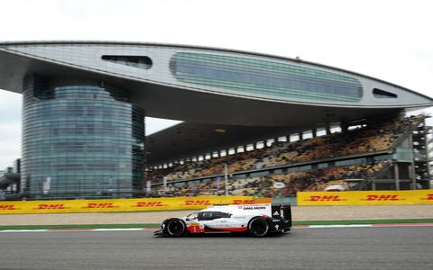 Sights from the action at the FIA World Endurance Championship 6 Hours of Shanghai November 3-5 , 2017.
