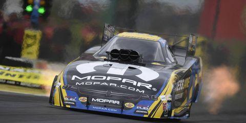 Matt Hagen's record-setting run earned him the No. 1 qualifying spot in Funny Car at Kansas.