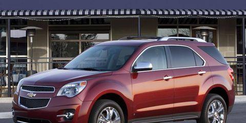 Driver's Log Gallery: 2010 Chevrolet Equinox