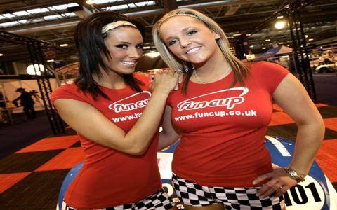 Grid Girls from the Autosport International Show