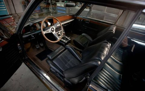 Aside from a bit of restifcation, the interior is largely stock.