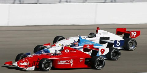 Bridgestone is back as a sponsor of the Indy Lights Series for 2012.