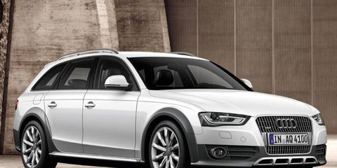 The Audi Allroad is based on the Audi A4.