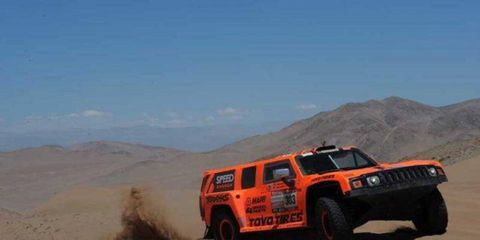 Robby Gordon was second quickest on Saturday to move into third place overall at Dakar.