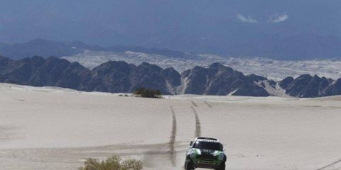 Mini ace Stéphane Peterhansel leads the Dakar Rally after five stages.