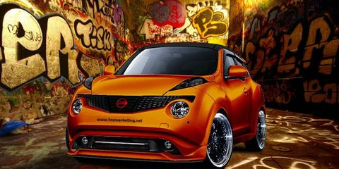 Fox added some power and panache to the Juke.