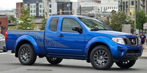 Sales of the Nissan Frontier pickup increased 28 percent in 2011.