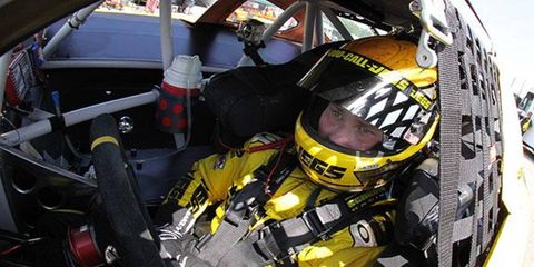 Cody Coughlin drives during last year's Jegs CRA All-Stars Tour. This season, he says he's ready to win a championship.