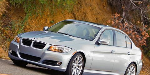 BMW outsold Mercedes-Benz by about 2,000 cars in the United States last year.