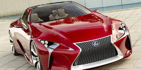 The Lexus LF-LC sports car will have a 2+2 configuration and hybrid powertrain.
