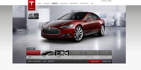 Tesla Model S Design Studio