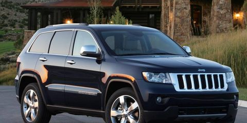 Strong sales of the Jeep brand helped boost Chrysler Group sales in 2011.