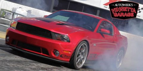<i>Autoweek's Vinsetta Garage</i> will begin airing on Discovery's Velocity Network on Jan. 3, 2012.
