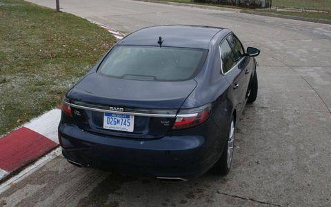 What I drove last night: 2011 Saab 9-5 Aero Sedan