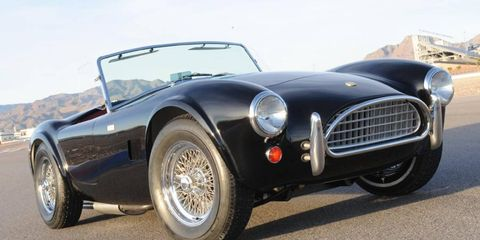 The last 50th-anniversary Shelby Cobra will be raffled off to raise funds for a charity.