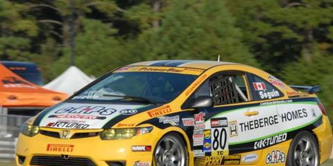 The 2012 SCCA Pirelli World Challenge will race on North American road and temporary street courses.