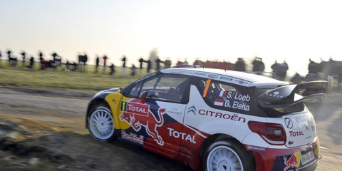 Sebastian Loeb has extended his lead to almost two minutes at the Monte Carlo Rally.