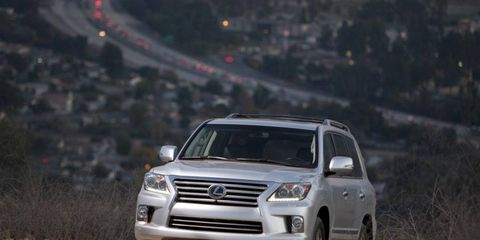 Lexus said on Thursday that the 2013 LX 570 SUV will carry a sticker price of $81,805, including shipping charges.