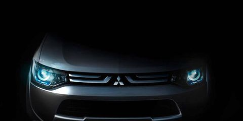 A preview of the Mitsubishi concept for the Geneva motor show.