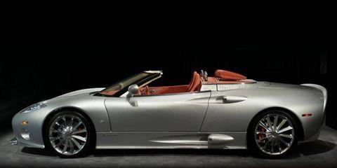 Spyker's C8 Aileron Spyder