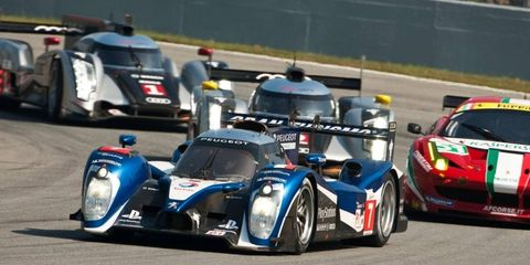 Peugeot's successes included victory at Le Mans in 2009 and the manufacturers' title in both years of the Intercontinental Le Mans Cup.