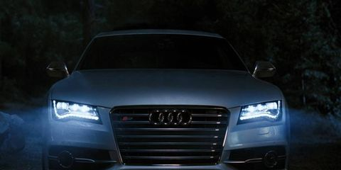 The ad's theme is still under wraps, but it will revolve around the benefits of LEDs, which Audi says is its signature.