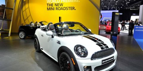 The roadster joins the Mini Cooper lineup in February.