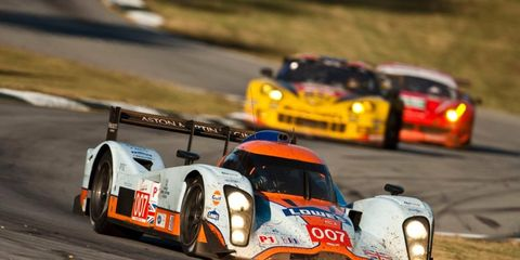 The American Le Mans Series will visit Virginia International Raceway for a race on Sept. 15.