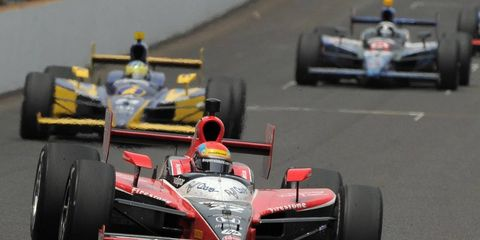 The Indy cars will be back on the track for an open test in March at Sebring International Raceway in Florida.