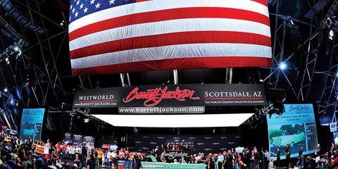 The Barrett-Jackson auction in Scottsdale, Ariz., will begin on Tuesday.
