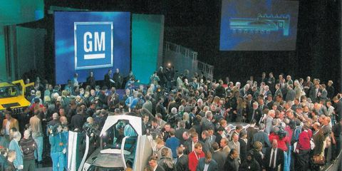 For the first of our three-part look back at the Detroit auto show, we pulled the Jan. 21, 2002, Autoweek issue from the archives and reviewed 10 pages of what was to be the future of the automotive industry.