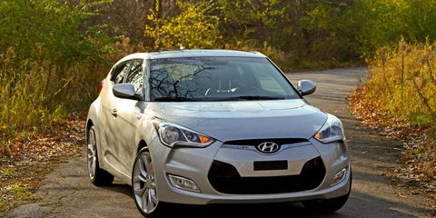 The 2012 Hyundai Veloster suprised our staff with its looks and agility.