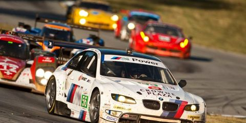 BMW Team RLL is out to defend its series title in the American Le Mans Series.