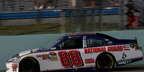 Dale Earnhardt Jr. finished seventh in the 2011 Sprint Cup Series chase with Hendrick Motorsports.