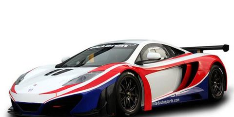 Mark Blundell, Zak Brown and Mark Patterson will pilot the No. 23 McLaren MP4-12C GT3 in the 2012 Blancpain Endurance Series.