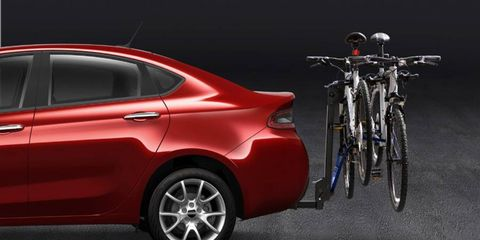 Mopar is offering more than 150 accessories for the Dodge Dart