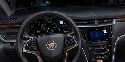 The Cadillac CUE infotainment system is an example of the expansion of tech throughout the vehicle.