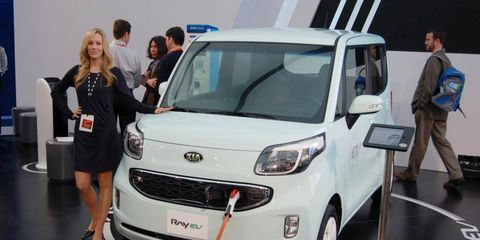 Kia hints that the Ray EV might be sold in the United States.