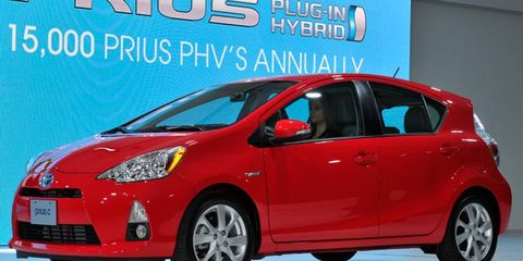 Toyota says the Prius C will get 53 mpg in the city, which it claims is the highest city fuel economy of any vehicle that is not a plug-in.