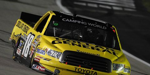 Veteran driver Jason Leffler will be driving at least 14 races behind the wheel of the No. 18 Tundra this season for Kyle Busch.