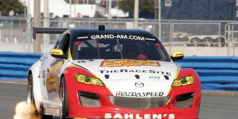 Team Sahlen campaigned its No. 42 and No. 43 Mazdas for all 12 of the 2011 Grand-Am Rolex Sports Car Series races in the GT class.