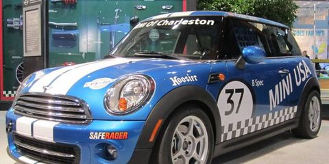 Mini, along with Mazda, Fiat and others, will have cars racing in Grand-Am's B-Spec races this season.