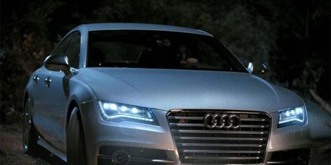 Audi features vampires and its new S7 in Super Bowl ad