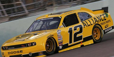 Sam Hornish Jr. will run a full NASCAR Nationwide Series schedule in 2012, with the Wurth Group on board as primary sponsor for seven races.