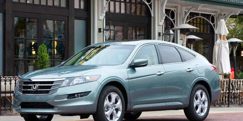 The new Crosstour features a four-cylinder engine and costs $28,465