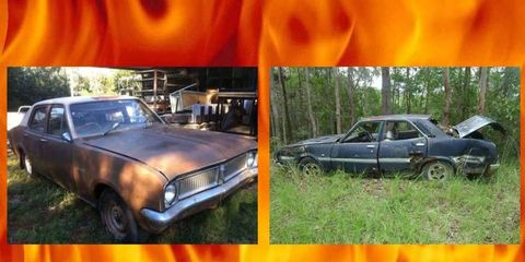 A Leyland P76 Targa Florio or a Holden Kingswood HG? Tough choices for Project Car Hell.