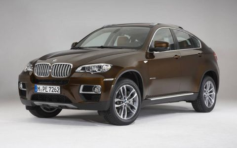 BMW sold just more than 20,000 X6 models over three years
