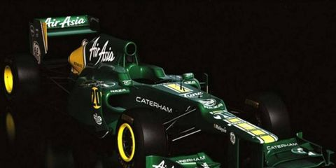 Caterham boss Tony Fernandes is excited about his team's new ride, the first 2012 F1 car to be unveiled to the public.