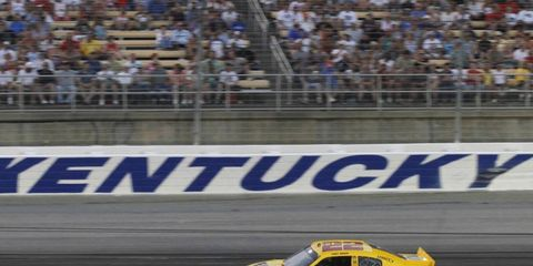 Bruton Smith is pouring close to $10 million into projects to help alleviate the traffic problems that plagued the inaugural NASCAR race at Kentucky Speedway in 2011.