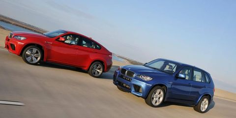 Diesel engines are slated for the M Performance versions of the BMW X6 and X5.